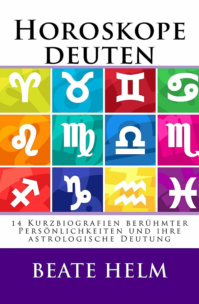 Horoskope deuten cover